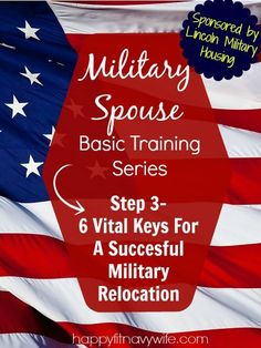 6 Vital keys for a successful military relocation. It's easy to get stressed about an upcoming PCS. This helped!