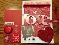 #Homemade Valentine's Card - Outside