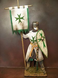 "12"" CUSTOM LEPER KNIGHT, THE ORDER OF ST LAZARUS, HOLY WARRIOR 1/6 ..."