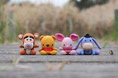 Amigurumi Winnie the Pooh and Friends ❥ 4U hilariafina  http://www.pinterest.com/hilariafina/