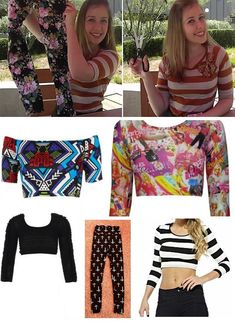How To Repurpose Old Pair Of Leggings Into a Crop Top