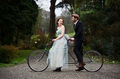 Eye For Design: Decorating With Vintage Bicycles...A Fun Story