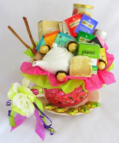 A Gift of Tea. Delicious gift hamper and gift baskets delivered within Perth and throughout Australia.