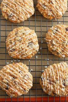 Carrot Applesauce Cookies