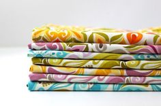 Quick and Easy Cloth Napkins tutorial by Maggie Brereton from Smashed Peas and Carrots