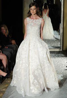 Oleg Cassini Wedding Dresses Fall 2015 | Maria Valentino/MCV Photo | blog.theknot.com