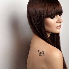 I like her tattoo! Love how it looks in flight and the simplicity