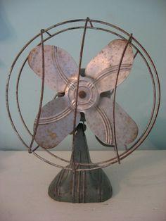 vintage fan by jmg9009 on Etsy, $27.00