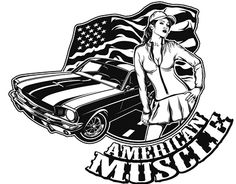 """Check out new work on my @Behance portfolio: """"Two Wheels Design: """"American Muscle"""""""" http://be.net/gallery/31545369/Two-Wheels-Design-American-Muscle"""