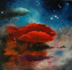 """Saatchi Online Artist Andrei Engelman; Painting, """"Tree of Life"""" #art"""