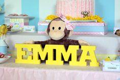 monkey girl Birthday Party Ideas | Photo 9 of 51