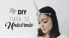 DIY: TIARA COM CHIFRE DE UNICÓRNIO                                                                                                                                                                                 Mais