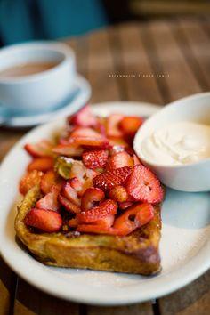 Strawberry Bruscheta