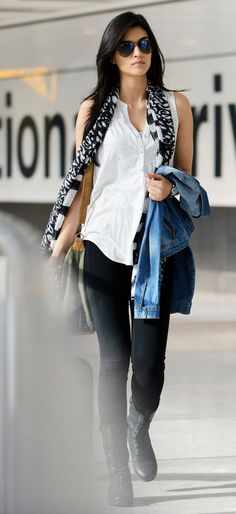 .Jeans and Shirts fashion styles for women