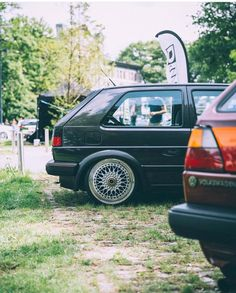 Volkswagen Golf Mk2, Vw, Old School, Cars, Style, Autos, Swag, Car, Automobile