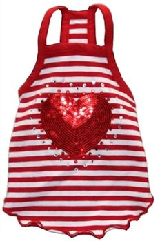 Let your #puppy show their love on #Valentines Day. Sequin Heart Dog T-shirt at http://www.cabodog.com/Dog-T-shirt-p/wp-hd-1rht.htm