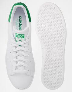 8df5158135f7f adidas Originals - Stan Smith - Baskets en cuir - Blanc M20324