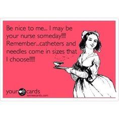 Humor: Be nice... or else!