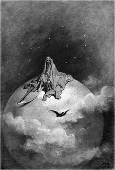 Dreaming dreams no mortals ever dared to dream before... Gustave Doré: The Raven Illustrations