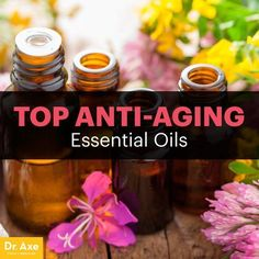 There are many great uses for essential oils, including helping to combat aging of the skin. There are four anti-aging essential oils in particular to obtain.