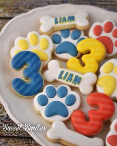 Paw Patrol Cookies! I like the number, we could do 2!!