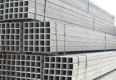 Hot Dipped Galvanized Steel Square Pipes