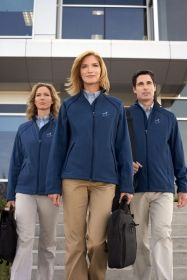 Promotional Products Ideas That Work: MEN'S 3-LAYER BONDED SOFT SHELL JACKET. Get yours at www.luscangroup.com