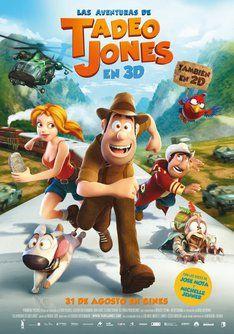 """Tráiler de """"Las aventuras de Tadeo Jones"""". Información, sinópsis y ficha técnica de la película #film #movies"""