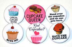 cupcake badges