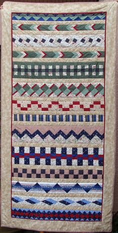 Ideas For Quilting Designs Wall Beds Quilt Boarders, Quilt Blocks, Bed Runner, Quilting Projects, Quilting Designs, Quilt Design Wall, Southwestern Quilts, Seminole Patchwork, American Quilt