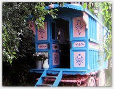 gypsy caravans (vardo wagons)