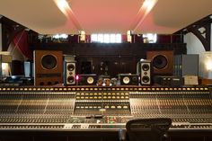 The Church Studio vintage EMI Neve recording console