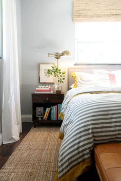 Bedroom Lighting Design: Brass Wall Sconces   Shelves, Bedrooms ...