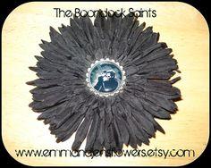The Boondock Saints Flower Hair ClipMcManus by Emmandjensflowers, $5.00