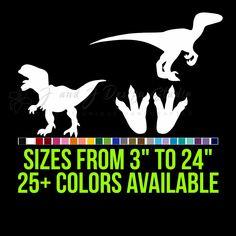 Dinosaurs Vinyl Decal