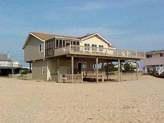 Sandbridge Beach - Oceanfront Vacation Home / Siebert Realty / Virginia Beach, VA  - Sand Castle - 3244 Sandfiddler Road