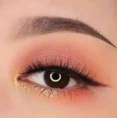 Korean Makeup Look, Asian Eye Makeup, Makeup Eye Looks, Makeup For Green Eyes, Cute Makeup, Pretty Makeup, Gorgeous Makeup, Eye Makeup Glitter, Eyeshadow Makeup