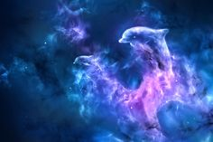Dolphin Nebula Digital Art by Bernadett Kovacs