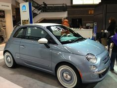 2013 Fiat 500 at the 105th Chicago Auto Show