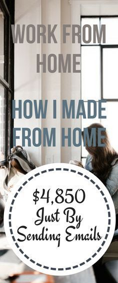Starting work from home how i made from home $4850 just by sending emails . No experience needed for this. This is one of the best affiliate program and highest paying program. Click to image and start right now #workfromhome #passiveincome #makemoneyonline work from home | work from home jobs | work from home jobs legitimate | work from home jobs for men | work from home office | Work From Home Jobs | Make Money Online From Home | Passive Income