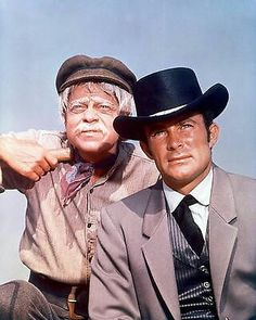 Robert Conrad as Jim West and Ross Marten as Artemus Gordon