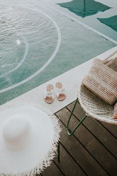 Poolside essentials at Hotel San Cristobal. Shop the slide here!