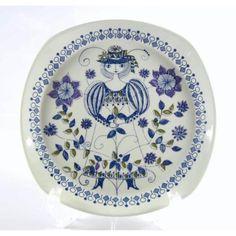 Lotte dinner plate/Figgjo(Norway)  Design Turi Gramstad-Oliver