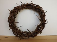 SewforSoul: Easter Crown of Thorns Grapevine Tutorial