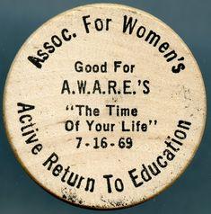 Vintage 1991 Iowa State Fair Souvenir Wooden Nickel