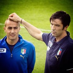 #FabioCannavaro Fabio Cannavaro: Happy Birthday Gigi!!! #parma #juventus #italy #italia #nazionale #azzurri #history photo @claudiovillaphotographer #worldchampion #germany2006