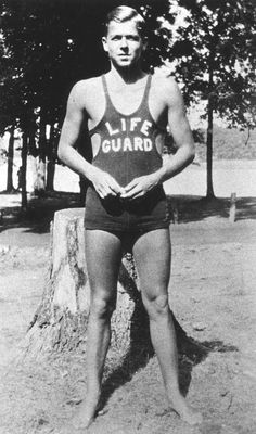 "Ronald Reagan was employed as a lifeguard at Lowell Park in Dixon, where, over the course of seven summers, he was credited with saving 77 lives. ""In high school, I began to lose my old feelings of insecurity; success in the school plays, in football and swimming, being the only guy on the beach with LIFE GUARD on my chest and saving seventy-seven people, being elected student body president…did a lot to give me self-confidence."" – Ronald Reagan"