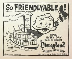 Vintage Disney ad