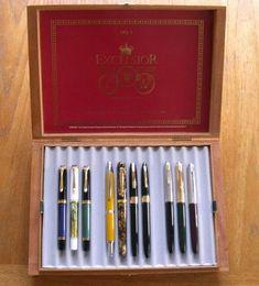 Cigar Box Pen Storage Case - Paper and Pen Paraphernalia - The Fountain Pen Network