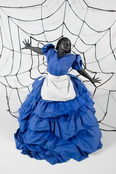 Mary Sibande,Caught in the Rapture (2009), ©
